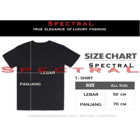 Spectral – SUPERMANABU 100% Soft Cotton Combed 30s Kaos Distro Fashion T- Shirt Atasan