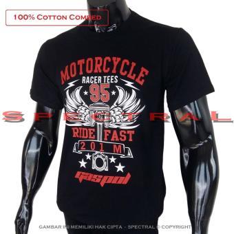 Spectral Kaos Distro T Shirt Fashion 100 Cotton Combed 30s Pria
