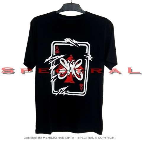 Spectral - Kaos Distro T-Shirt Fashion 100% Soft Cotton Combed 30s Pria Wanita Cewe Cowo Baju T – Shirt 3D Jakarta Bandung Terbaru Baru Jaman Now Kekinian Animasi Seni Gambar Slank Slankers Oi Indonesia Band Rock Musik Gitar Indo Kaka Bim Atasan Pakaian 2