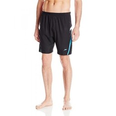 Speedo Mens Hydrovolley with Compression Jammer, Black/Blue, - intl