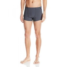 Speedo Mens Lazer Fit Square Leg, Speedo Black, - intl