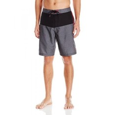 Speedo Mens Long Bay E-Board 21 Inch, Black/Heather, - intl