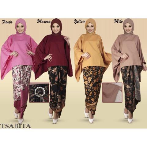 Sb Collection Rok Lilit Batik Tesa Long Skirt Multicolor Daftar Source · Harga Jual Stelan Atasan Blouse Batwing Dan Rok Lilit Batik Wanita Jumbo Long Skirt ...