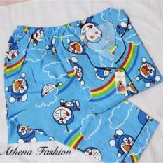 Stelan Piyama Wanita Doraemon / Baju Tidur Wanita / Pajamas