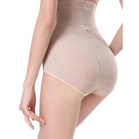 Sunwonder Wanita Panggul Kontrol Tubuh Korset Tinggi Pinggang Yg Melangsingkan Tummy Perut Shaper Pakaian Dalam (Aprikot)-Internasional 1