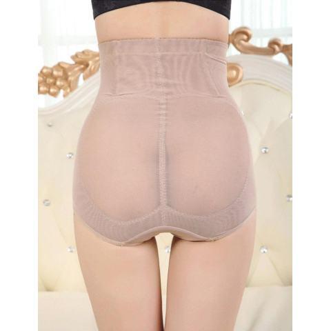 Sunwonder Wanita Panggul Kontrol Tubuh Korset Tinggi Pinggang Yg Melangsingkan Tummy Perut Shaper Pakaian Dalam (Aprikot)-Internasional 5