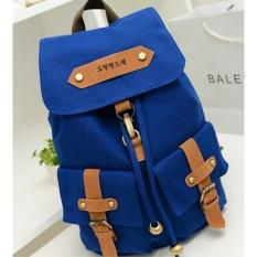 Super Promo Murah New    Tas Tr9 Ransel Backpack Wanita Bahan Kanvas Nylon Impor Import - 3C7F5L