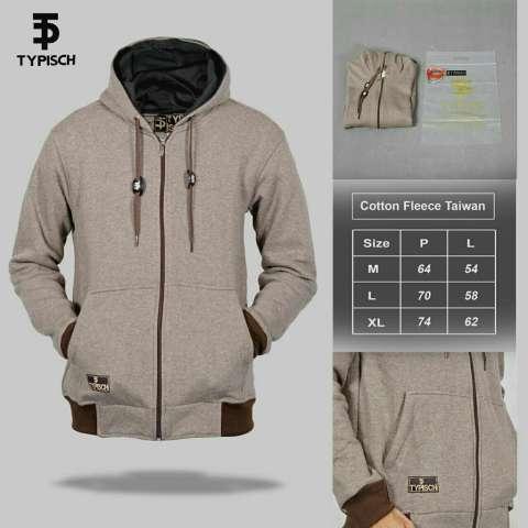 Sweater Jaket Pria Murah Hoodie Zipper - TYPISCH ORIGINAL DISTRO [Grosir] NEW