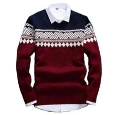 Sweater Rajut Pria Columbus Tribal - Best