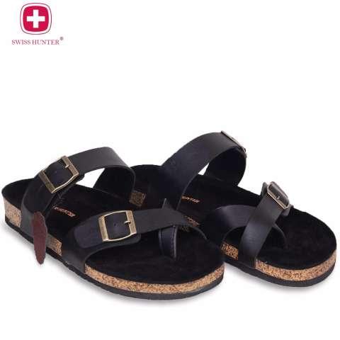 Swiss Hunter - Mimic Sandal - Black
