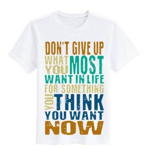 Pria Kaos. Source · Sz Graphics Dont Give Up T Shirt Wanita .