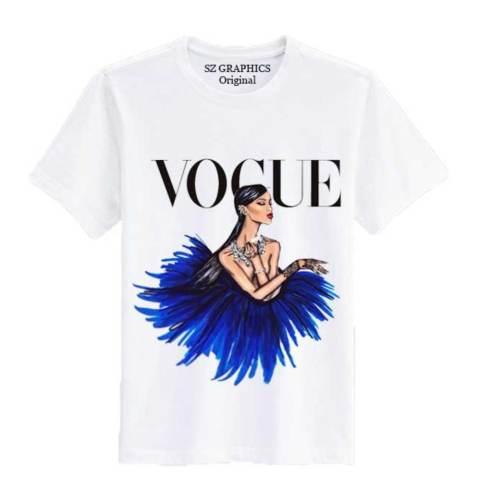 Home; Sz Graphics/Vogue/T Shirt Pria Wanita/Kaos Pria Wanita-