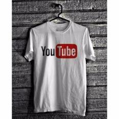 T-Shirt Baju Kaos Youtube - Ukuran S