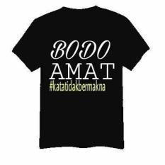 T-Shirt Kaos Baju Bodo Amat Crew