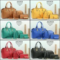 TAS BATAM BRANDED AIGNER SET 4 IN 1 903