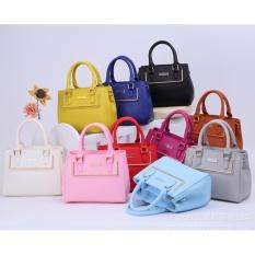 Tas Branded Wanita Charles N Keith Best Quality Handbags - Brown