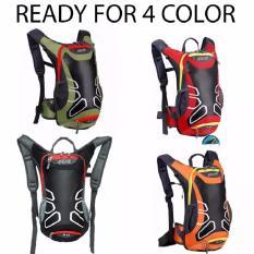 Tas Hydrobag STR R15 Multifunction Hydropack Tas Sepeda Plus Water Blader 2 Liter -MERAH
