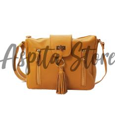 Tas Kulit Wanita Selempang Bahan Kulit Sapi Premium Asli Garut - Aspita Store