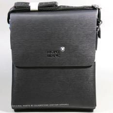 Tas Laptop Kantor Model Selempang Pria Kulit MB-30 Black Prime