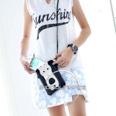 Ultimate Tas Wanita DY-479 - Black / Tas Cewek Batam Import Kecil Cantik Murah / Tas Bahu Selempang Mini Korea Branded