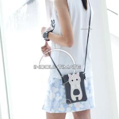 Ultimate Tas Wanita DY-479 - Gray / Tas Cewek Batam Import Kecil Cantik Murah / Tas Bahu Selempang Mini Korea Branded