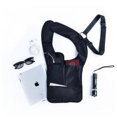 Tas Pundak Hidden Multifungsi (Shoulder Arm Bag FBI) - Hitam