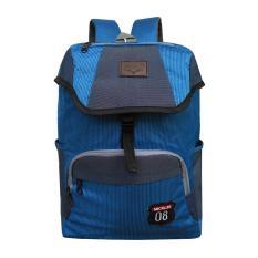 Tas Ransel Backpack Pria Wanita Micklin / Tas Punggung / Tas Sekolah / Tas Kuliah / Korean Bag LLC0888 Free Waterproof Raincover