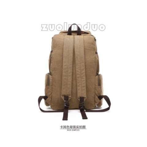 Zuo Lun Duo Tas Ransel Kanvas Premium Quality Tr000672 Hijau - Info ... 81a7470c82711