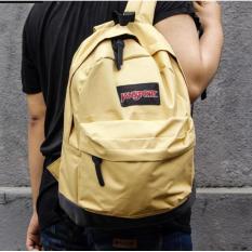 Tas Ransel Sekolah Jansport Yellow / Tas Pria Wanita Trendy Murah