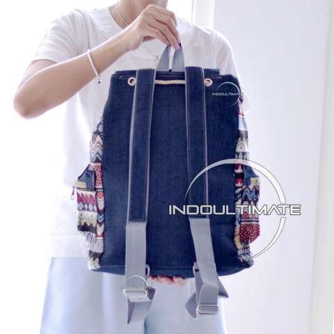 ... Ultimate Tas Backpack Unisex Pria Wanita Punggung Ransel Kuliah Fancy  Etnic Tas Sekolah Anak Korean Bag 15a3f19b19