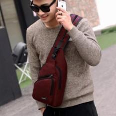 Tas Ransel Tas Waistbag Tas Selempang Tas Gadget Carboni Size 10 Inchi Bisa Ransel Tali Satu Dan Ransel Tali Dua - Dark Red