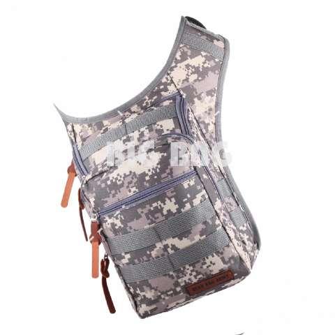 Tas Selempang Pria / Wanita Gear Bag The Supreme Army - Grey Tas Waist Bag Pinggang