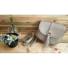Lefriadi.shop - Tas Selempang / Slingbag Oval Mini Rumbay Capuchino