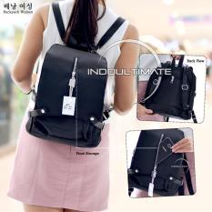 Ultimate Tas Ransel Wanita EH-009 / Tas Cewek Backpack Korea Import Batam Murah Branded Cantik