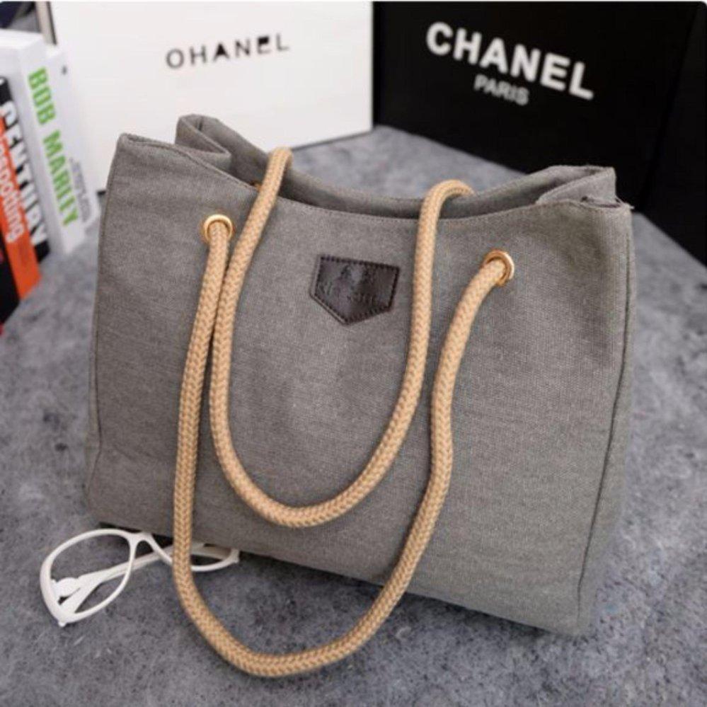 Harga Kawai Tas Wanita Dompet Mini Fashion Cantik New Style Terbaik Nbsp Korean Batam Tote Bag Canvas Korea Import Grey