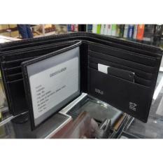 Terbaru Dompet Pria Braun Buffel 5186 Black - Kulit Import - 16 Kartu - Kdstr