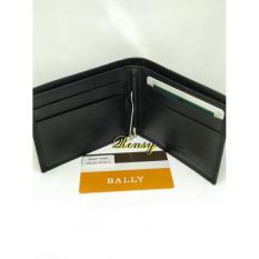 Terbaru Dompet Tipis Pria Simple Kulit Money Clip Bally /Prada Ba57-018 Import - Kdstr