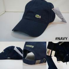 Terbaru Topi Lacoste Baseball/Golf Import 6 Warna ( Unisex ) - Kdstr