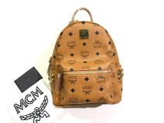 Terlaris Murah Tas Mcm Mini Stark Backpack Cognac Tas Mcm Original - 1B6H9O