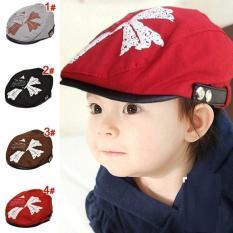 Topi Baret Import Polos Bergambar untuk anak Balita