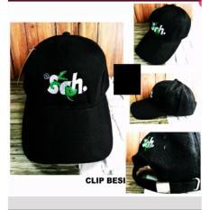 Topi Baseball Ouval RSCH Premium Clip Besi