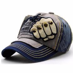 Topi Baseball Snapback New Style Jamont - Dark Blue