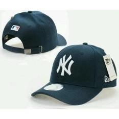 topi snapback baseball(tanpa jaring) new york baseball,biru
