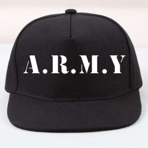 Home  Ormano Topi Baseball Snapback Cap Im Special Leather Cap. Topi  Snapback Bts Army c763f51be5