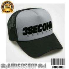 Topi Trucker 3SECOND Best Quality Virgoshop Clothing