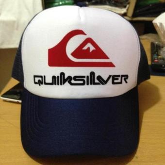 Tabasya Topi Trucker Quicksilver Print White Dongker - Daftar Update ... bfb804fc22