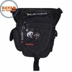 Tracker Tas Selempang Tas Pinggang Tas Paha 3in1 4140-8 Nylon Original - Black