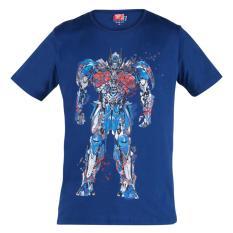 Transformers Optimus Prime T-Shirt Blue