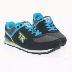 Trekkers JB-Bellagio 2 Sepatu Olahraga Laki-laki warna Hitam / Biru Laut