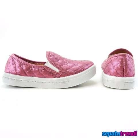 Lunetta Sepatu Slip On Anak Perempuan Luxe FCL - Pink